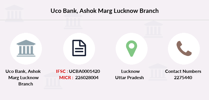 Uco-bank Ashok-marg-lucknow branch