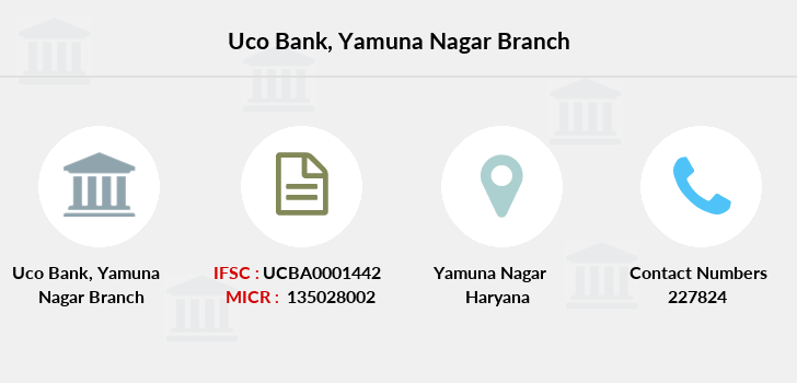Uco-bank Yamuna-nagar branch