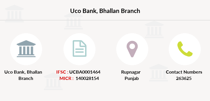 Uco-bank Bhallan branch