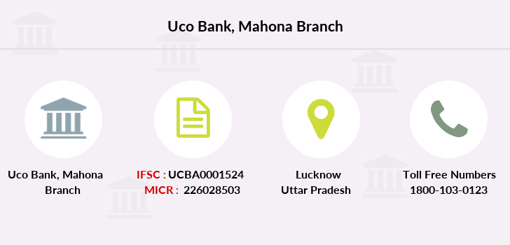 Uco-bank Mahona branch