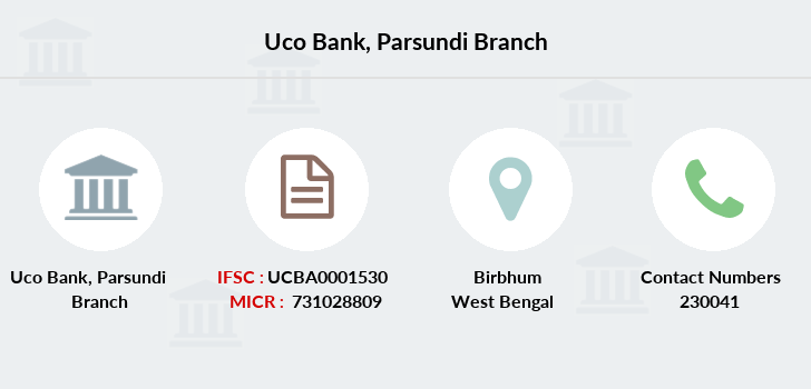 Uco-bank Parsundi branch
