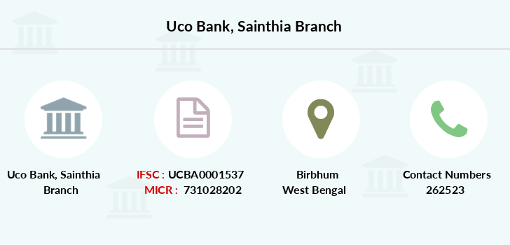 Uco-bank Sainthia branch
