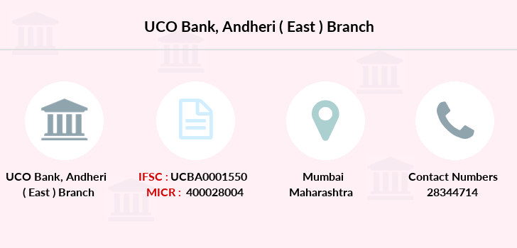 Uco-bank Andheri-east branch