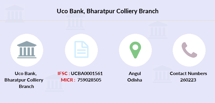 Uco-bank Bharatpur-colliery branch