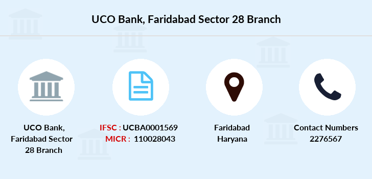 Uco-bank Faridabad-sector-28 branch