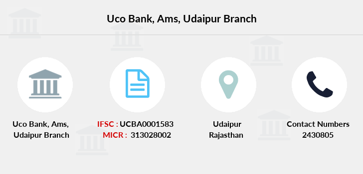 Uco-bank Ams-udaipur branch