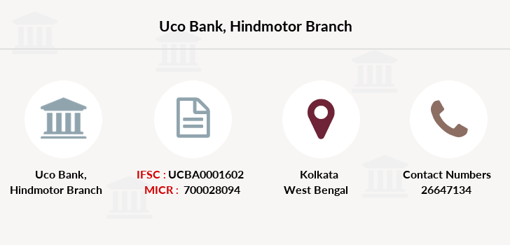 Uco-bank Hindmotor branch