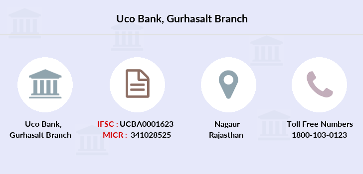 Uco-bank Gurhasalt branch