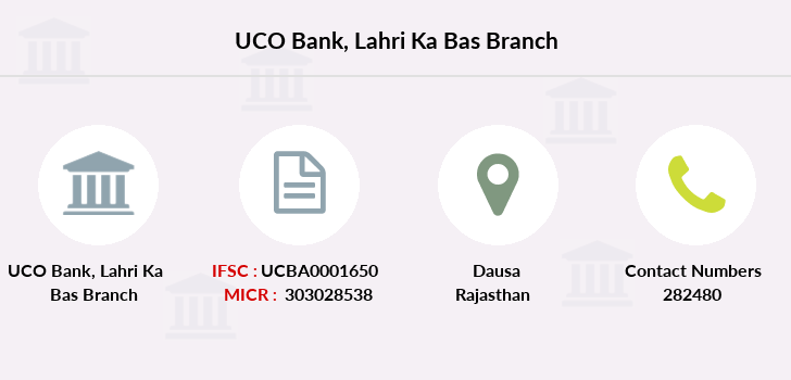 Uco-bank Lahri-ka-bas branch