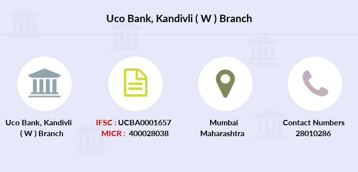 Uco-bank Kandivli-w branch