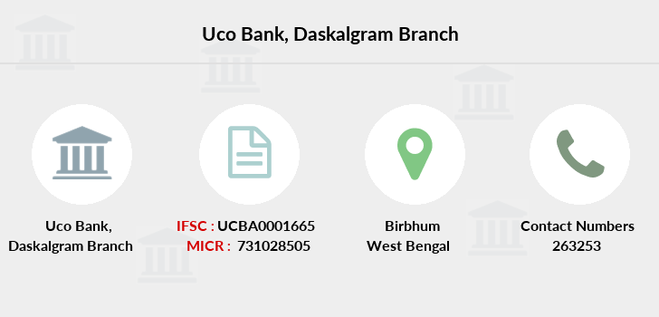 Uco-bank Daskalgram branch