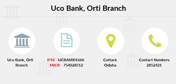 Uco-bank Orti branch
