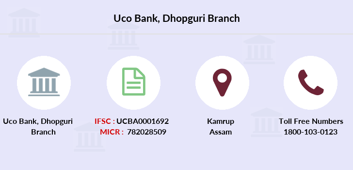 Uco-bank Dhopguri branch