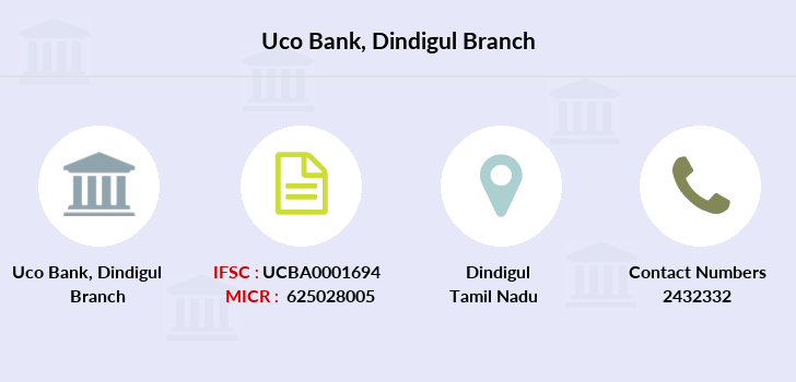 Uco-bank Dindigul branch