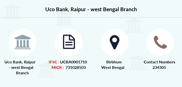 Uco-bank Raipur-west-bengal branch