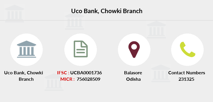 Uco-bank Chowki branch