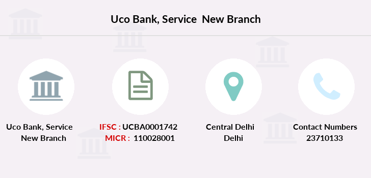 Uco-bank Service-new branch
