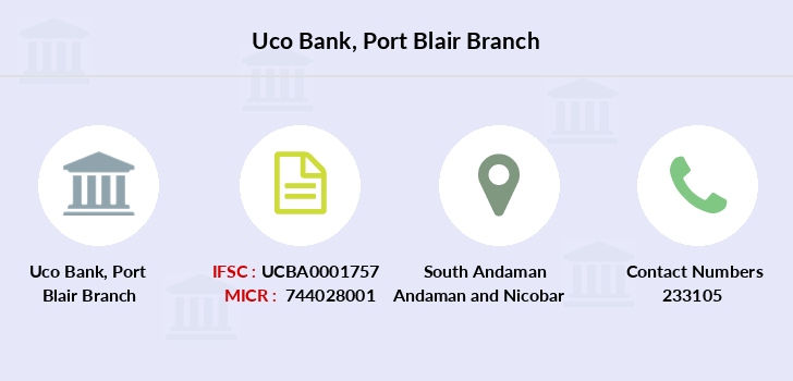 Uco-bank Port-blair branch