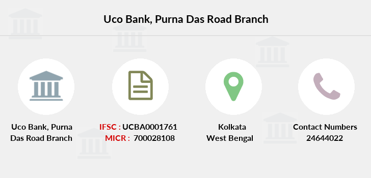 Uco-bank Purna-das-road branch