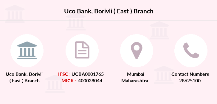 Uco-bank Borivli-east branch