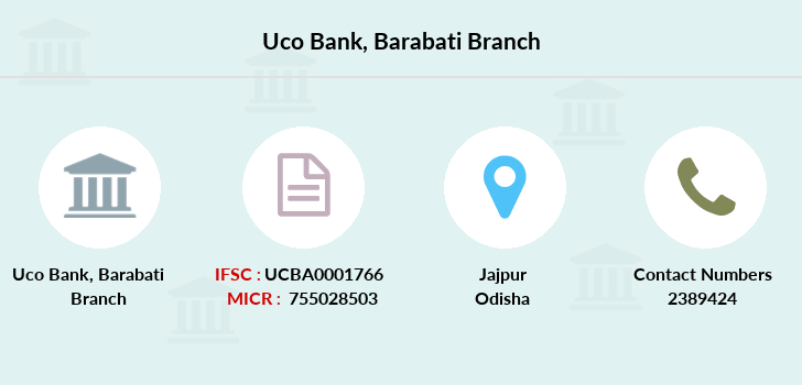 Uco-bank Barabati branch