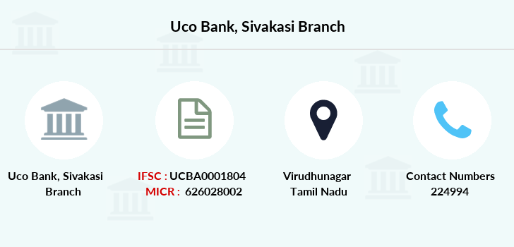 Uco-bank Sivakasi branch