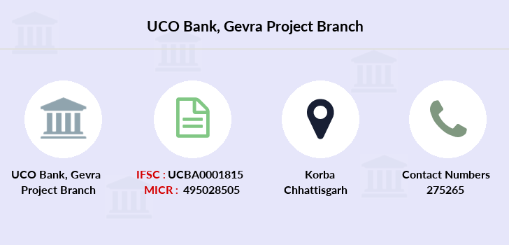 Uco-bank Gevra-project branch