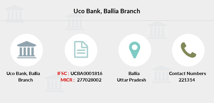 Uco-bank Ballia branch