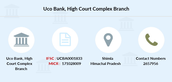 Uco-bank High-court-complex branch