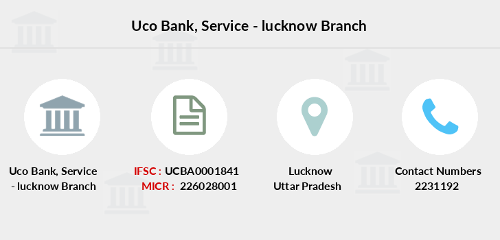 Uco-bank Service-lucknow branch