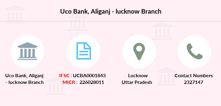 Uco-bank Aliganj-lucknow branch
