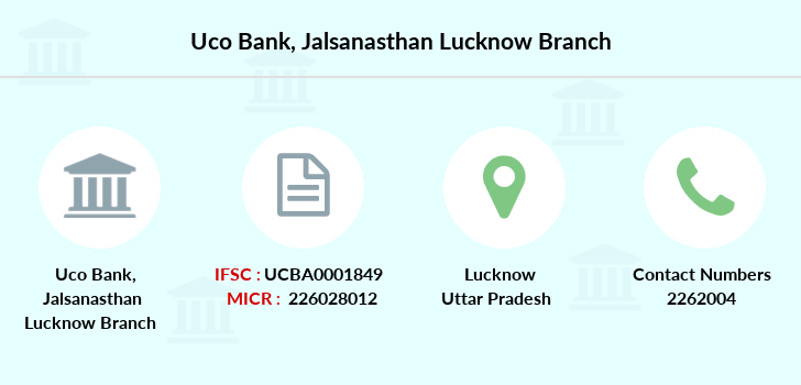 Uco-bank Jalsanasthan-lucknow branch