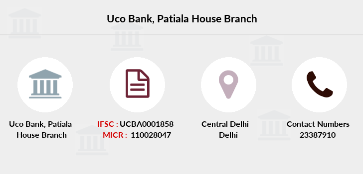 Uco-bank Patiala-house branch