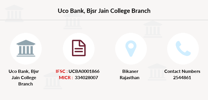 Uco-bank Bjsr-jain-college branch