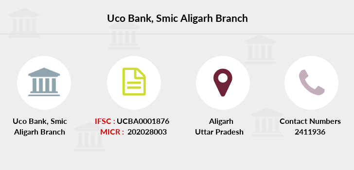 Uco-bank Smic-aligarh branch