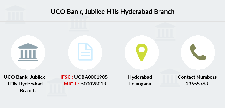 Uco-bank Jubilee-hills-hyderabad branch