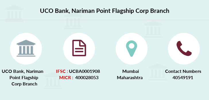 Uco-bank Nariman-point-flagship-corp branch