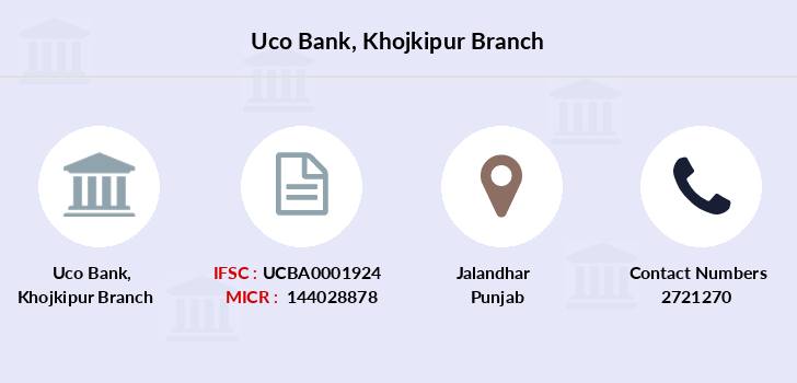 Uco-bank Khojkipur branch