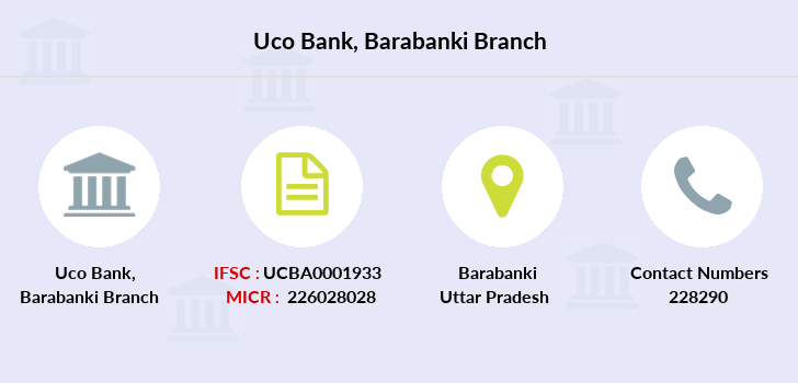 Uco-bank Barabanki branch