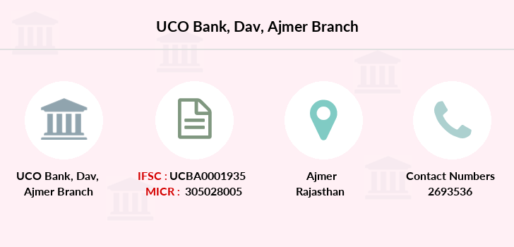 Uco-bank Dav-ajmer branch