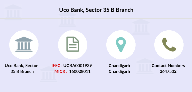 Uco-bank Sector-35-b branch