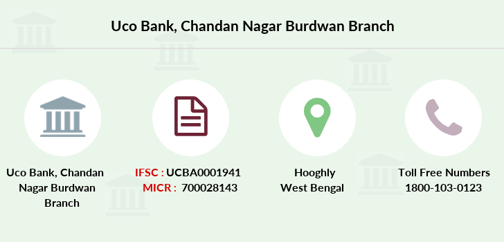 Uco-bank Chandan-nagar-burdwan branch