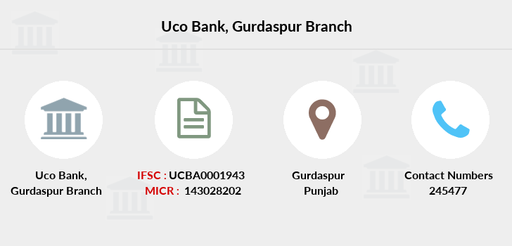 Uco-bank Gurdaspur branch
