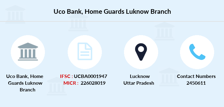 Uco-bank Home-guards-luknow branch