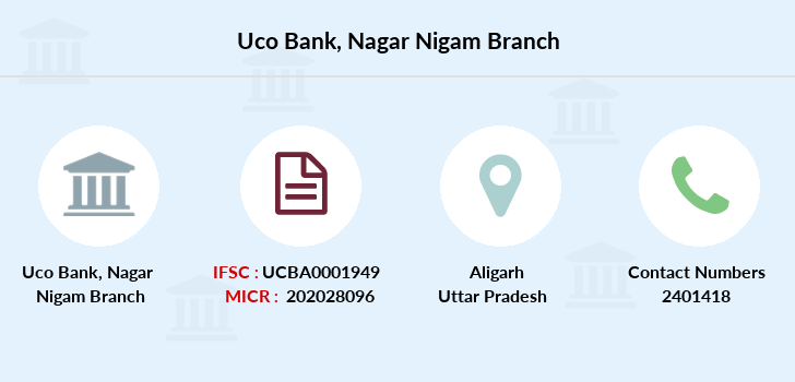 Uco-bank Nagar-nigam branch