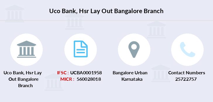 Uco-bank Hsr-lay-out-bangalore branch