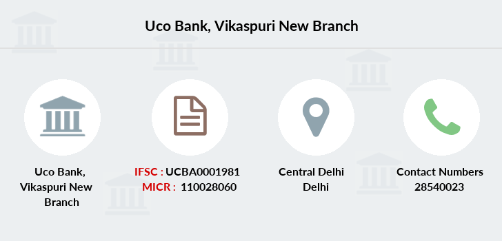 Uco-bank Vikaspuri-new branch