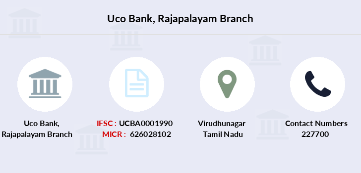 Uco-bank Rajapalayam branch