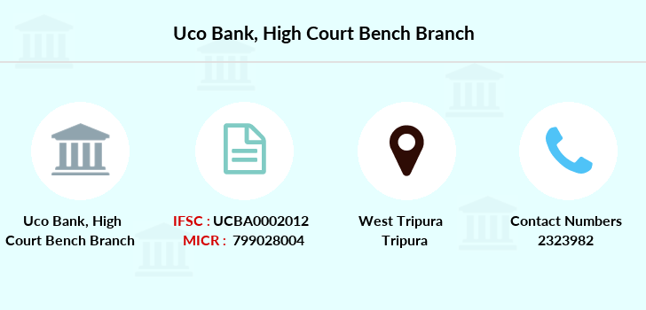 Uco-bank High-court-bench branch