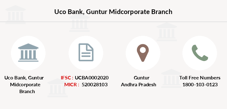 Uco-bank Guntur-midcorporate branch